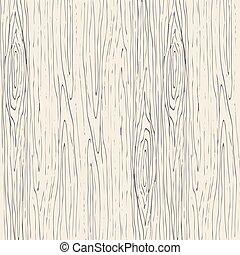 drewniany, drewno, tło., wektor, struktura, seamless, ziarno, pattern.