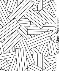 drewniany, seamless, struktura