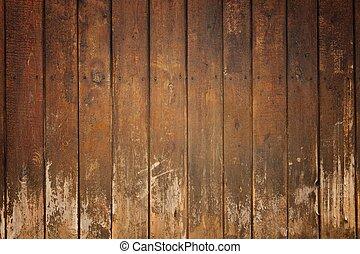 drewniany, stary, deska