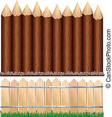 drewniany, szermierki