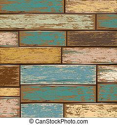 drewniany, tło., stary, struktura
