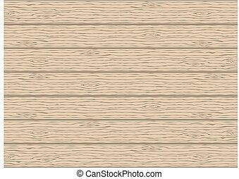 drewno, drewniany, abstrakcyjny, ilustracja, tło., wektor, ziarno, planks., texture.