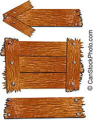 drewno, elementy