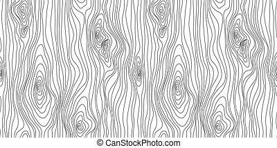 drewno, kłamczuchy, drewniany, abstrakcyjny, pattern., seamless, ilustracja, tło, wektor, ziarno, texture., budowa
