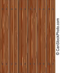 drewno, sosna, płot