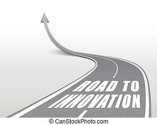 droga, słówko, szosa, innowacja