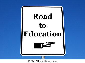 droga, wykształcenie