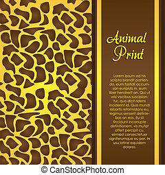 druk, zwierzę