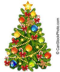 drzewo, boże narodzenie
