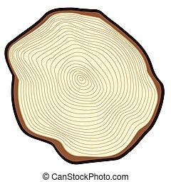 drzewo., cięty