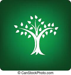 drzewo, ikona