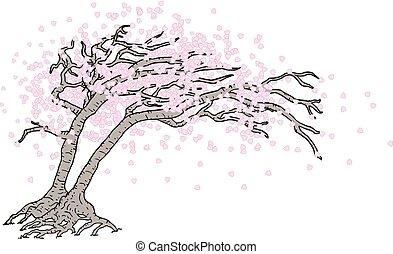 drzewo, japończyk