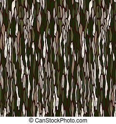 drzewo, seamless, tło., wektor, kora, texture.