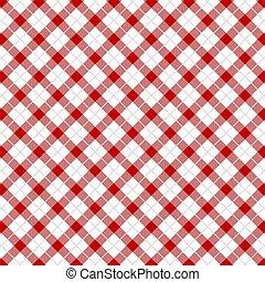 duży parasol, pattern., czerwony