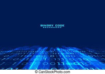 dwójkowe dane, projektować, kodeks, palcowy potok, tło