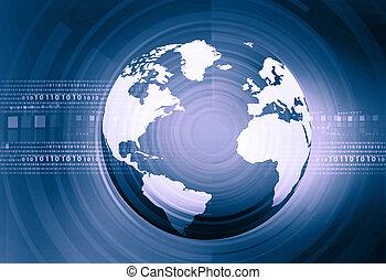 dwójkowy, palcowa technologia, world.