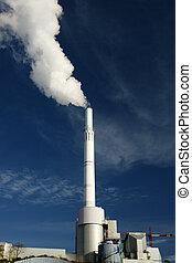 dymi się, roślina, atmosfera, moc, wydzielanie