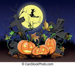 dynie, halloween