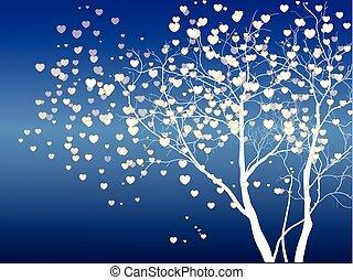dzień drzewa, valentine