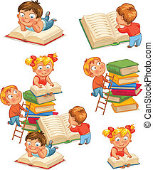 dzieci, biblioteka