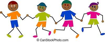 dzieciaki, etniczny
