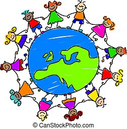 dzieciaki, europejczyk