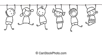 dzieciaki, interpretacja, szczęśliwy