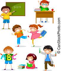 dzieciaki, szkoła
