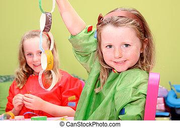 dzieciaki, sztuka, dzieci, albo, kunszt, interpretacja