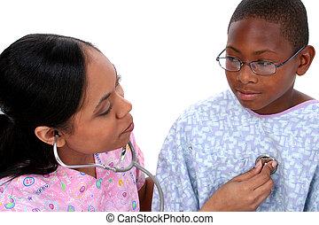 dziecko, pielęgnować, zdrowie