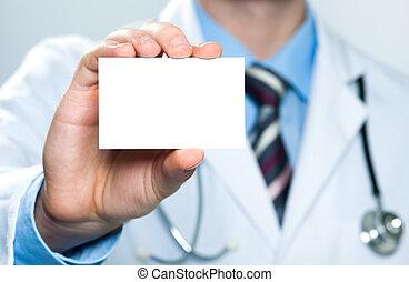 dzierżawa, doktor, handlowa karta, czysty