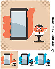 dzierżawa, smartphone