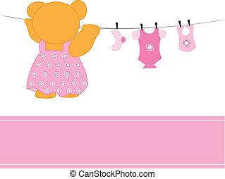 dziewczyna niemowlęcia, odzież