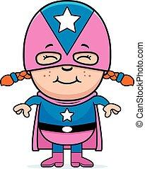 dziewczyna, superhero