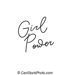 dziewczyna, zacytować, moc, koszula, tytuł