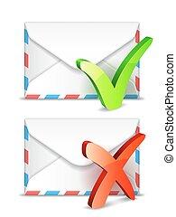 e-poczta, concept.