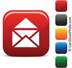 e-poczta, icons.