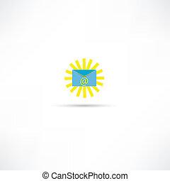 e-poczta, ikona
