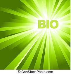 eco, bio, organiczny, /, afisz