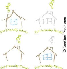 eco, dom, przyjacielski