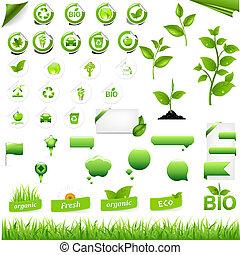 eco, elementy, zbiór