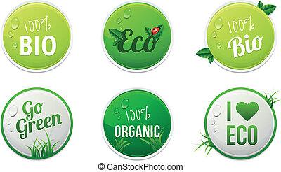 eco, majchry, komplet, organiczny, bio