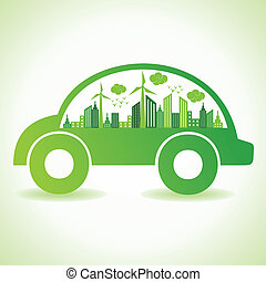 eco, wóz, pojęcie, ekologia