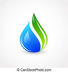 eco, woda kapią