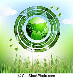 eco, ziemia, projektować