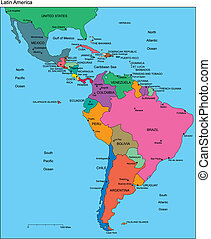 editable, łacina, kraje, nazwiska, ameryka