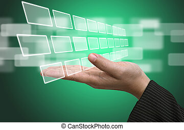 ekran, technologia, wkład, interfejs