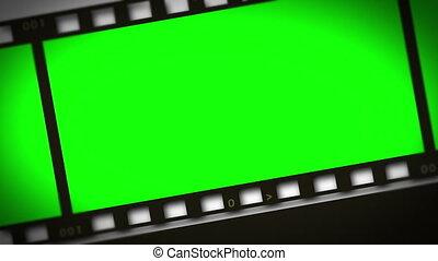 ekranizować pas, montaż, zielony