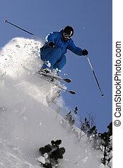 ekstremum, skier.