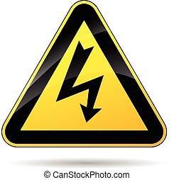 elektryczność, znak